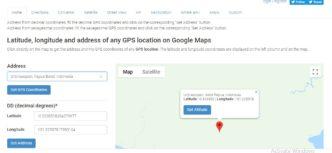 GPS koordinat