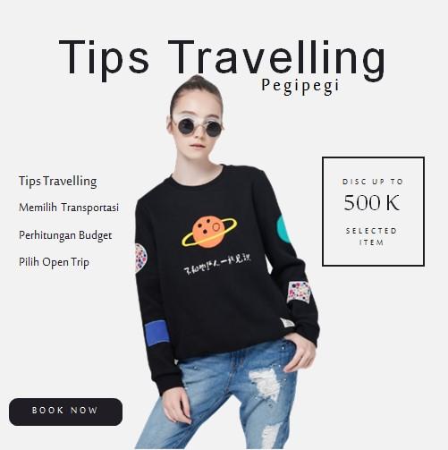 Tips Travelling Bersama Pegipegi