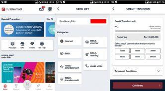 cara transfer pulsa telkomsel dengan aplikasi
