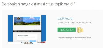 Harga Website Ini