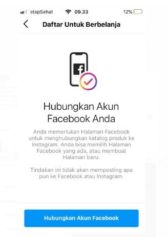 Hubungkan akun Facebook Anda
