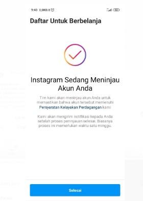 Instagram Sedang Meninjau